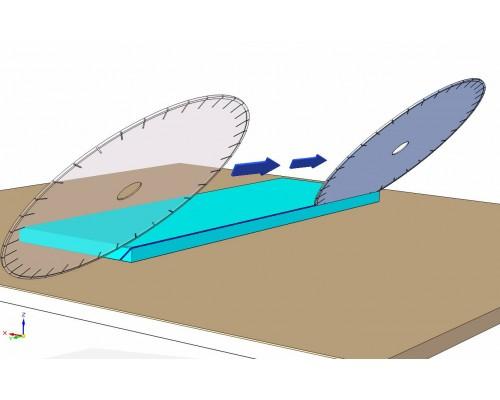 Электрический плиткорез Achilli ALU 100