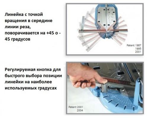 Ручной плиткорез 3B4 SIGMA Serie 3, 67