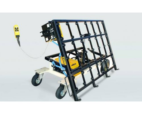 Тележка для транспортировки каменных плит Achilli SC500/800 (с выдвижной наклонной панелью)