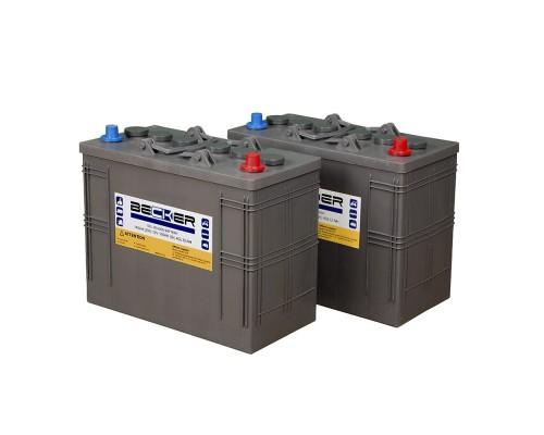 Тяговая гелевая аккумуляторная батарея BECKER 12V 105Ah