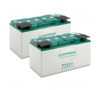Комплект батарей AGM 2x 12V/115Ah, 24 V, 115 Ah