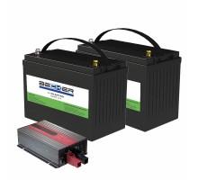 Комплект АКБ и ЗУ BECKER Li-ion Kit A12-CT110