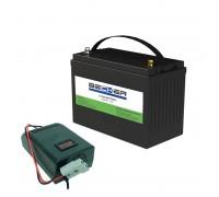 Комплект АКБ и ЗУ BECKER Li-Titan Kit CT40
