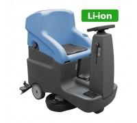 Поломоечная машина с литий-ионным аккумулятором BECKER A12 66 Rider Li-Titan 5/4
