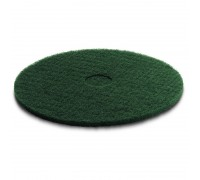 Пад, средней жесткости, зеленый, 508 mm