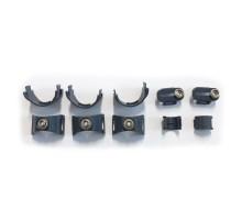 Комплект креплений парового шланга POLTI (для Unico)