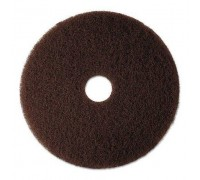 Чистящий коричневый пад IPC Gansow, 350 мм (5 шт)