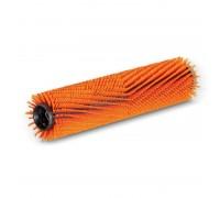 Цилиндрическая щетка, высокий/низкий, оранжевый, 350 mm
