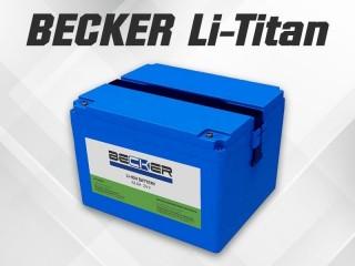 Li-Titan аккумуляторы для поломоечных машин от BECKER