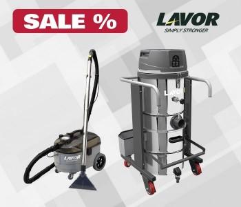 Скидки 10% на пылесосы LAVOR Professional