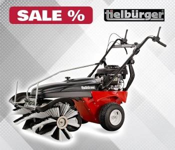 Скидки 35% на подметальные машины Tielbürger